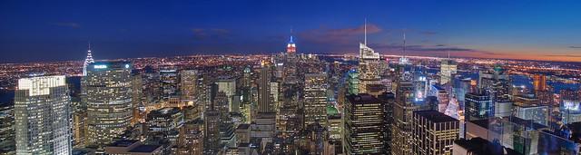 NYC - 180° Manhattan Panomrama