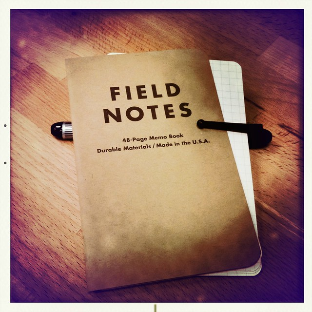 Field Notes / Moleskine Cards Mashup
