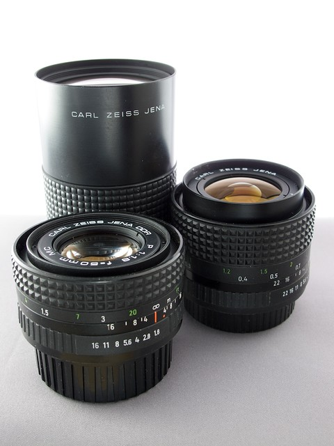 Carl Zeiss Jena P Lenses