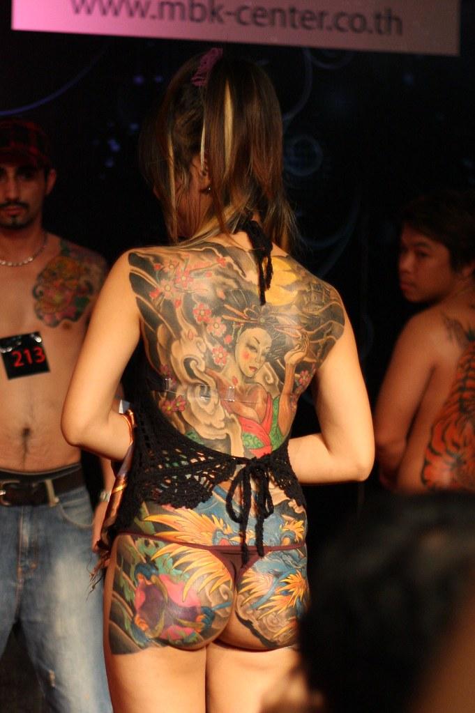 Tattoo Contest Girl