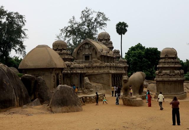mamallapuram five rathas