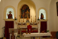 altar, building, place of worship, church,