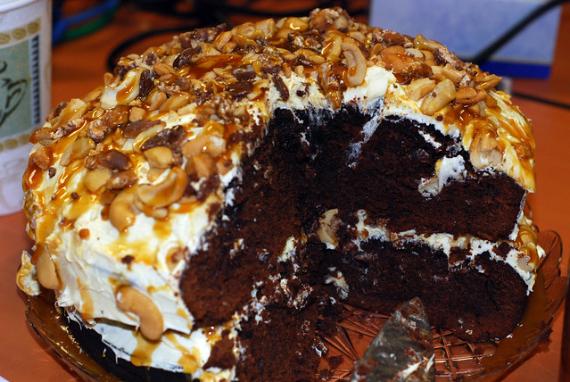 Easy Homemade Chocolate Turtle Cake: Flickr - Photo Sharing