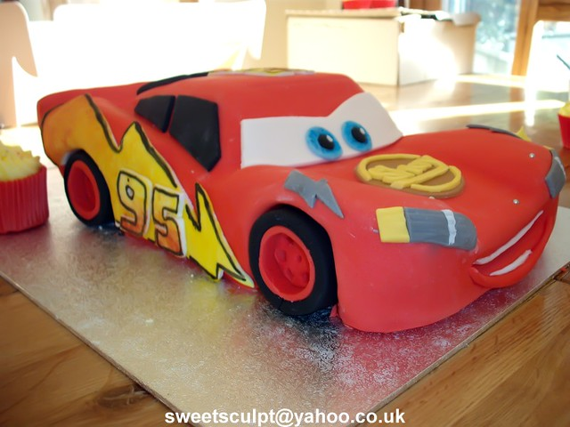 Disney Cars Cake Disney Car Cake - again hand carved ...