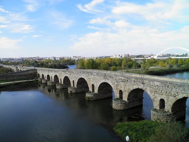 Roman Bridge over the river Guadiana, Emerita Augusta