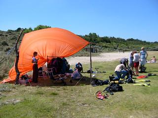 Diving in Zeeland in 2003