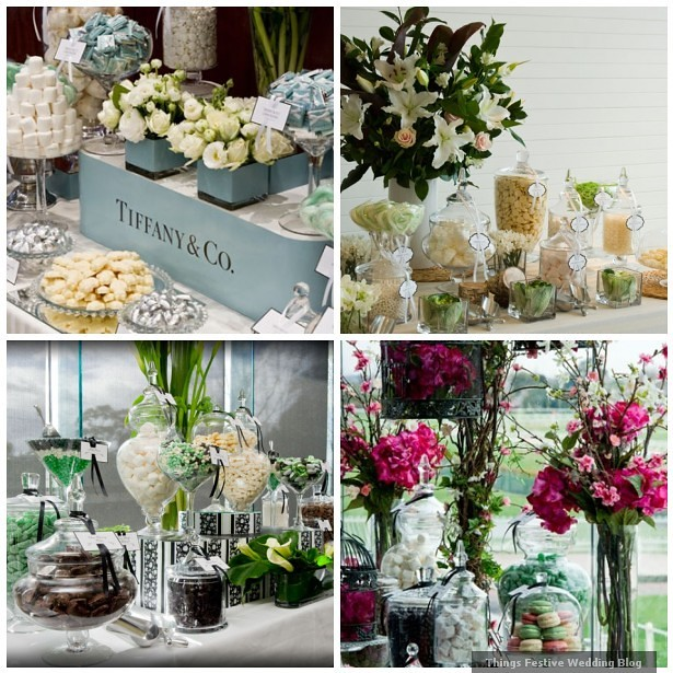 Wedding Candy Buffet Ideas Sophisticated Styling