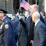 NYC Veterans Day Parade 1 - New York Mayor, Michael Bloomberg