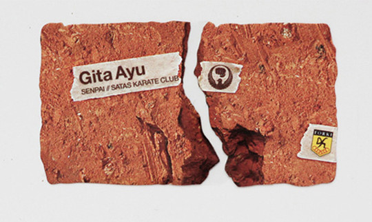 Gita Ayu's Brick Business Card?