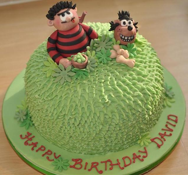 Beano Birthday Cake