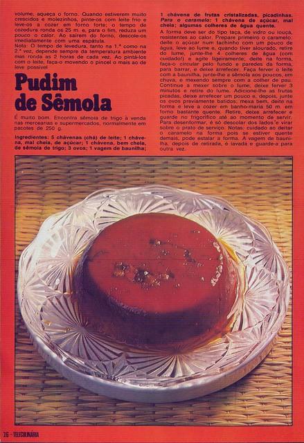 Tele Culinária e Doçaria, Especial Outono, Setembro 1980 - 24