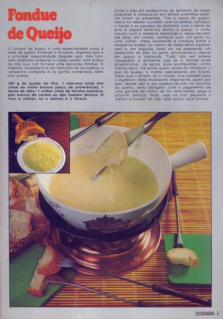 Tele Culinária e Doçaria, Especial Outono, Setembro 1980 - 4