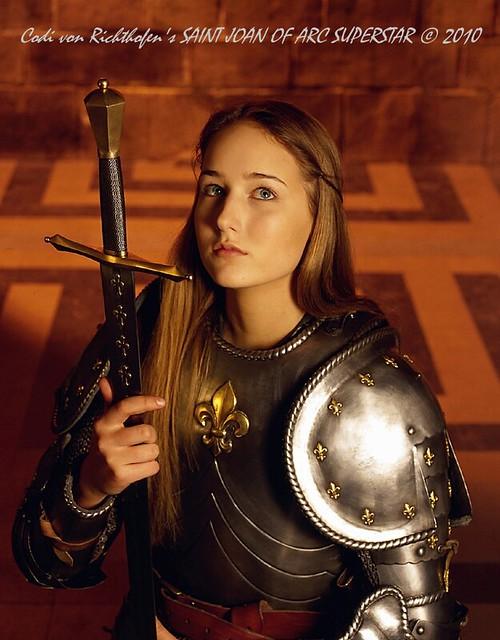 Leelee Sobieski plays Joan of Arc - CBS Television, 1999