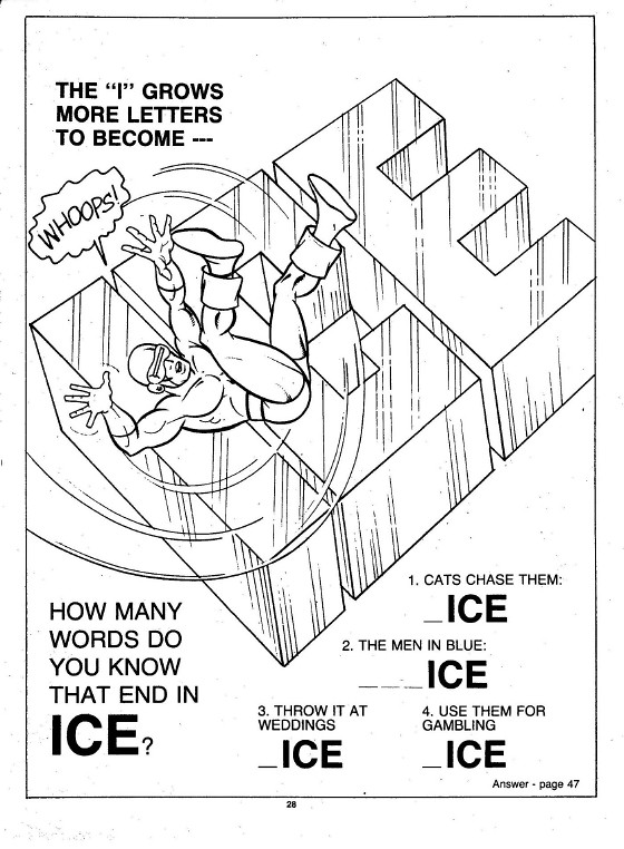 X-Men Super Activity Book00029