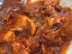 gravy, stew, curry, goat meat, produce, food, dish, cuisine, goulash,