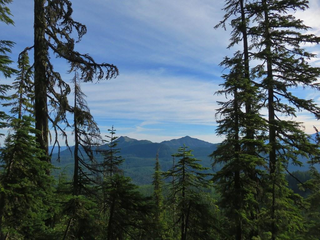 Coffin and Bachelor Mountains