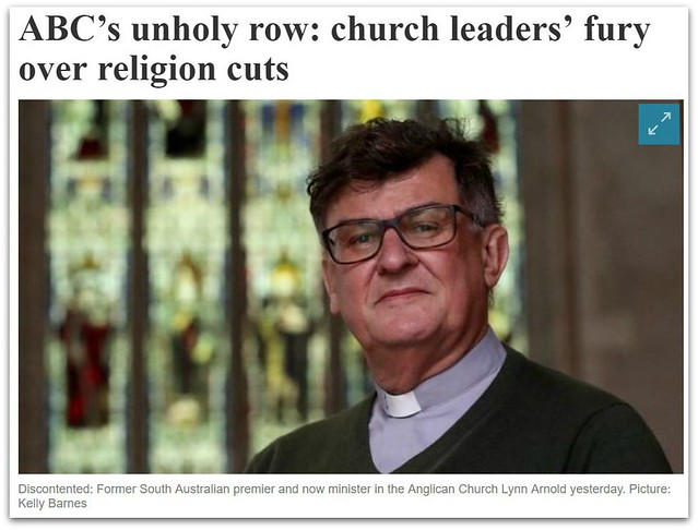 ABC Religion cuts from The Australian