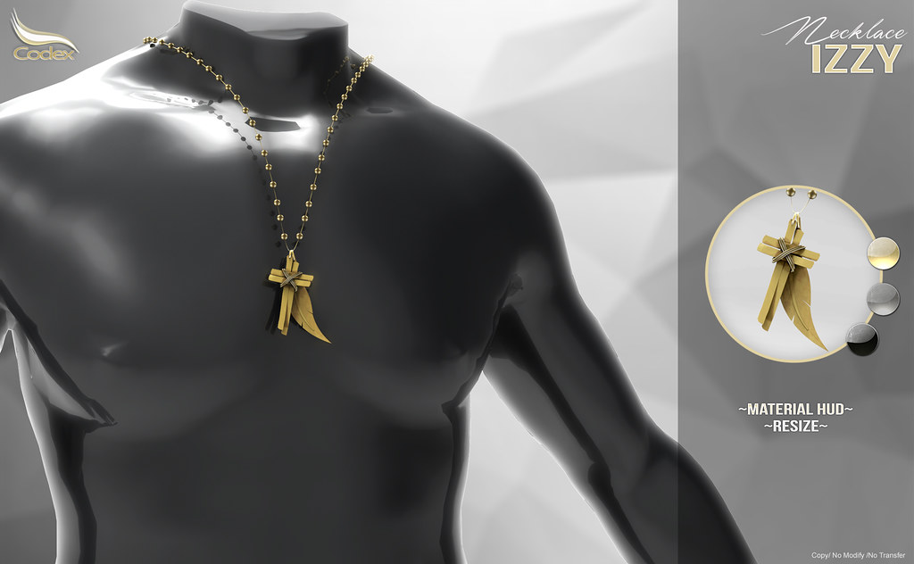 CODEX_NECKLACE IZZY - SecondLifeHub.com