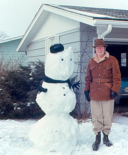 Peoria - Roger and Snowman