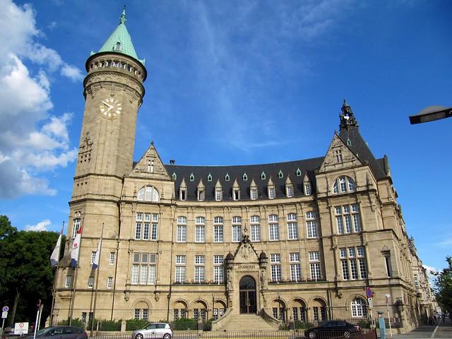Grand Architecture, Avenue de la Liberte, Luxembourg City ...