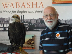 Dad with Eagle
