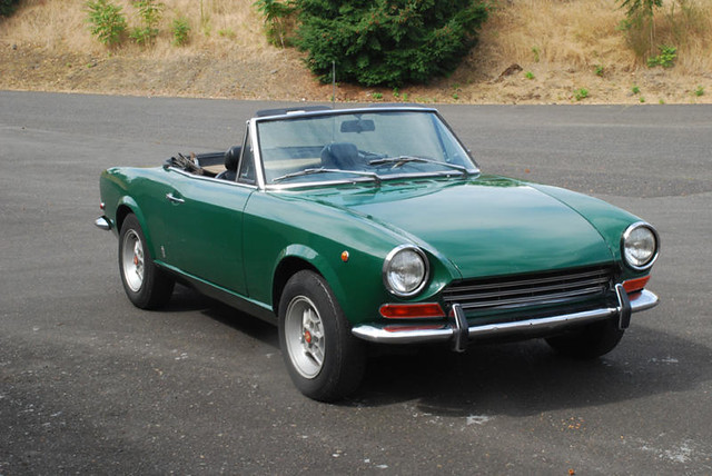Flickriver photoset 39 bat exclusive 1969 fiat 124 sport spider for sale 39 by bring a trailer - 1969 fiat 124 sport coupe for sale ...
