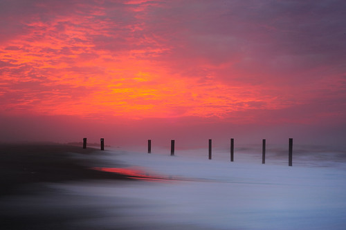 longexposure sea sunrise sand nikon waves nikkor easthampton mainbeach 50mm18d d700 11937 104oceanavenue hurricaneearl