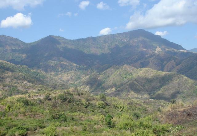 View of mountains in Phetchabun.