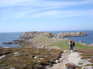 On the plains of Bryher