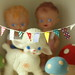 paper garlands for my toys by cottonblue