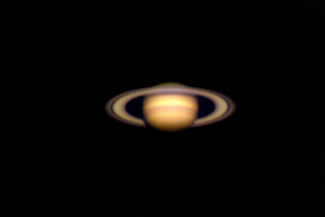Saturn as viewed through Chabot's 20-inch refractor, Rachel