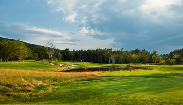 8th hole at The Lakes, Nova Scotia
