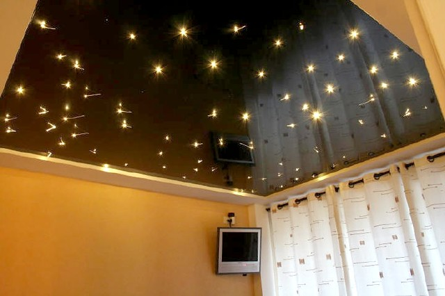 Plafond tendu barrisol star ciel toil flickr photo - Etoiles phosphorescentes plafond ...