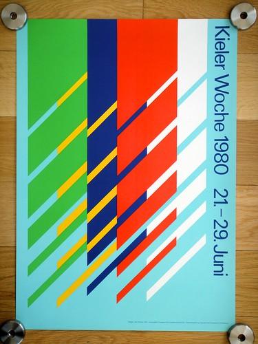 Kieler Woche Poster - 1980