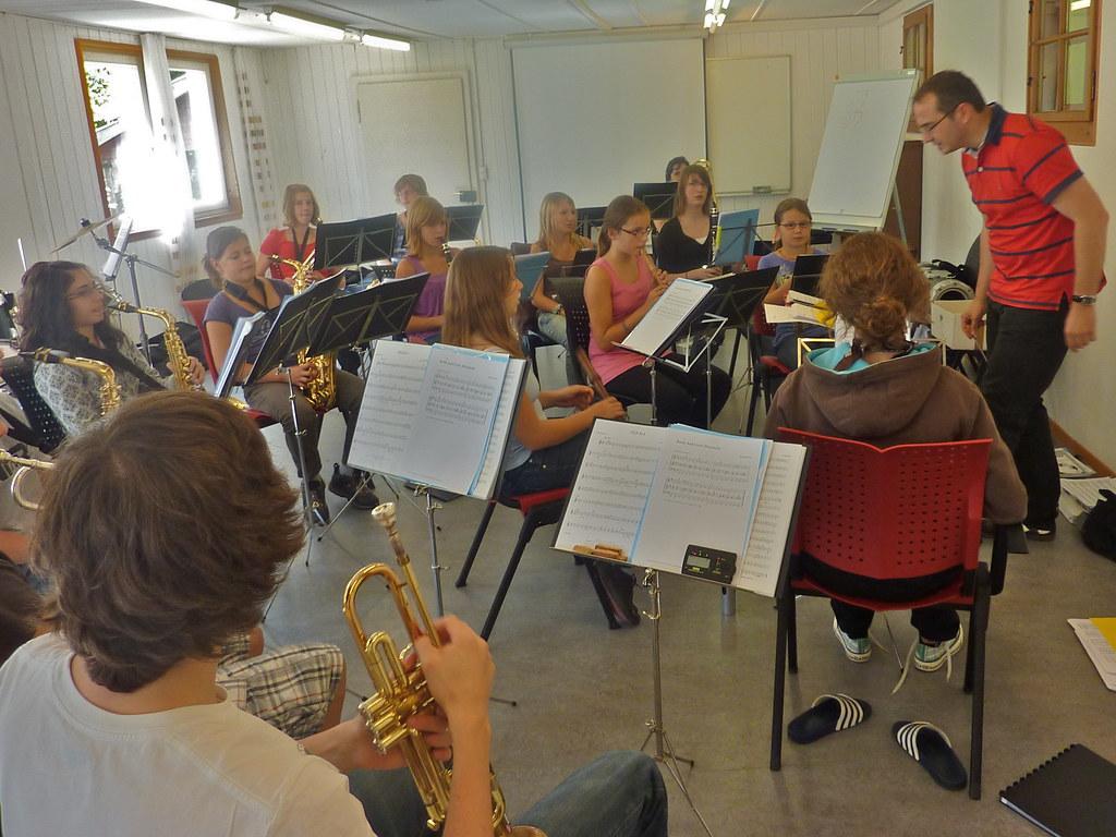 Probe-Weekend Musig Würm 2010