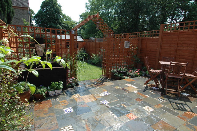 The victorian terrace garden 7 flickr photo sharing for Garden design ideas victorian terrace