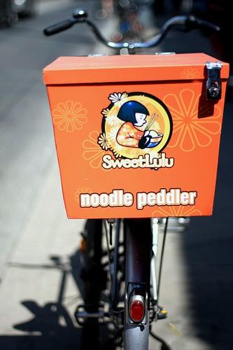 Noodle peddler