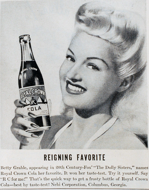 Betty Grable's Bubbly Drink