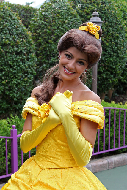 Belle leaves for the parade