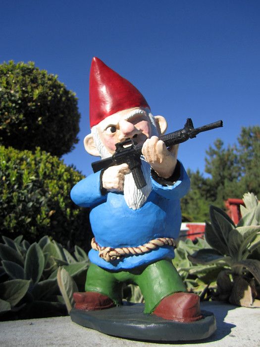 Combat Garden Gnomes 033