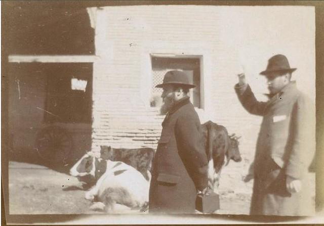 Édouard Vuillard y Ker-Xavier Roussel en el Taller del Moro de Toledo en febrero de 1901. Fotografía del príncipe de Rumanía Emmanuel Bibesco. Museo D´Orsay.