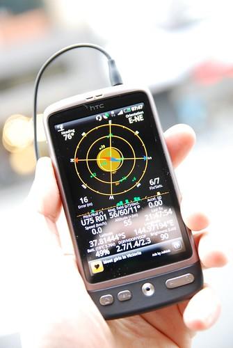 GPS Status app - HTC Desire