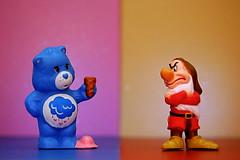 Grumpy Bear vs. Grumpy (261/365)