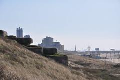 Old German bunkers...