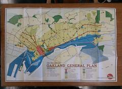 Oakland General Plan, 1958