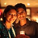 Small photo of Leena Rao and her husband