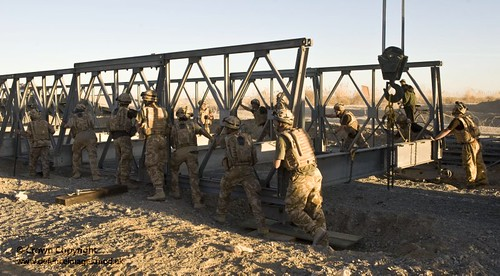 5036485436 f9408784c5 UK Military Bridging   Equipment (The Bailey Bridge)