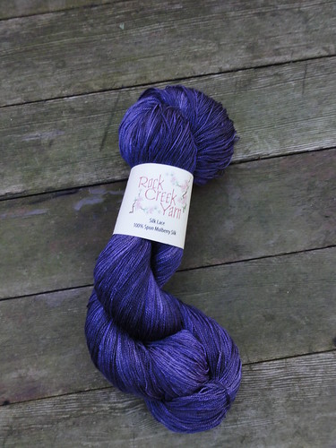Rock Creek Yarn Silk Lace