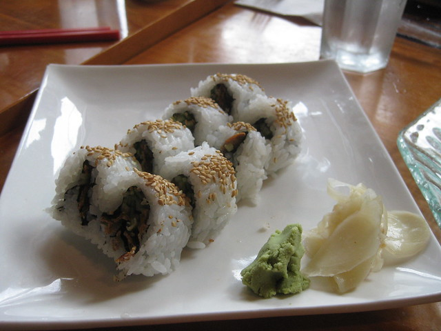 Sushi by CC user coolmikeol on Flickr