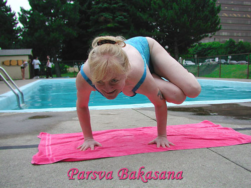 Parsva Bakasana - Side Crow Pose